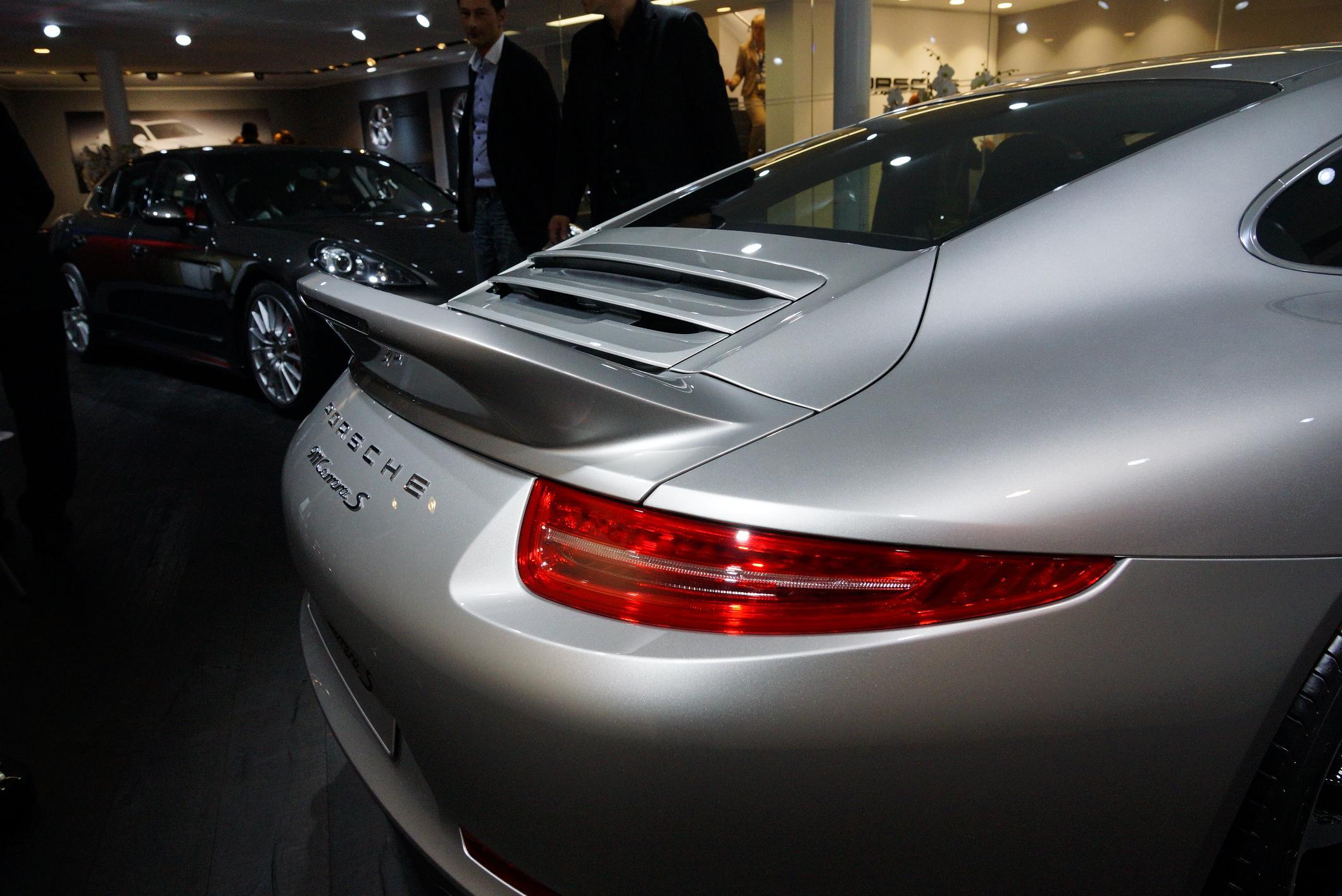Porsche 911 Carrera S Rear Light Geneva 2012