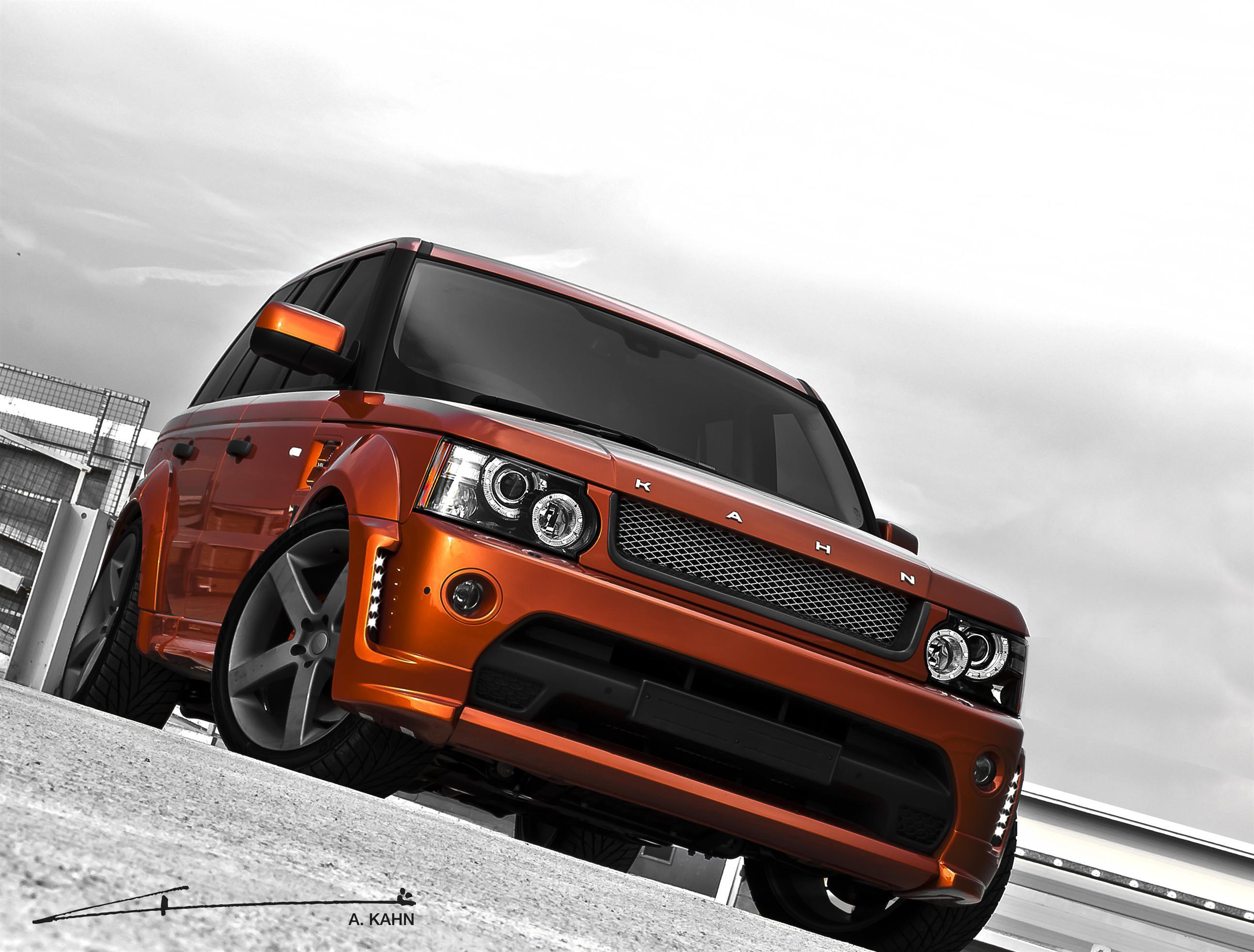 Range Rover Sport Vesuvius Kahn Front