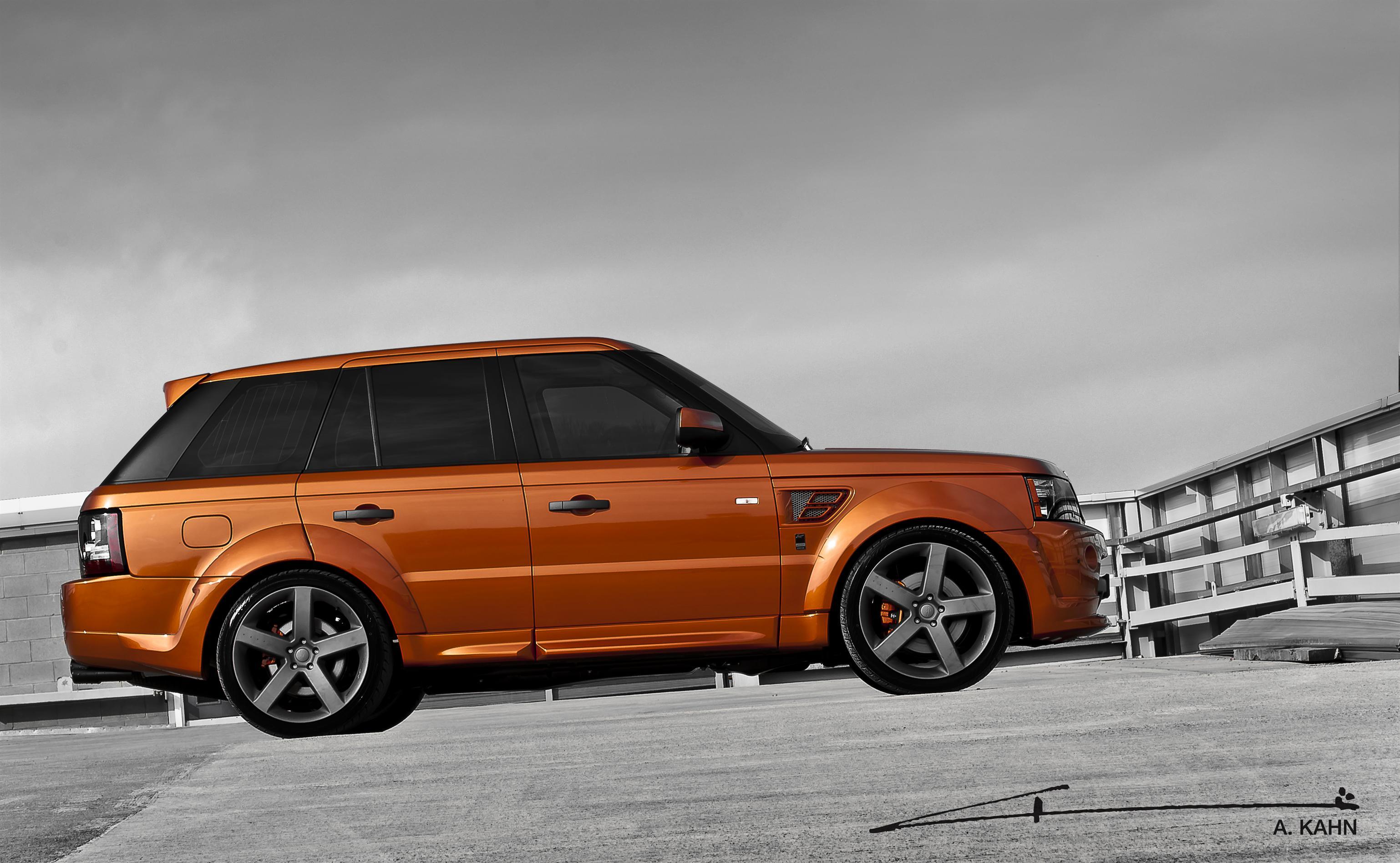 Range Rover Sport Vesuvius Kahn Side