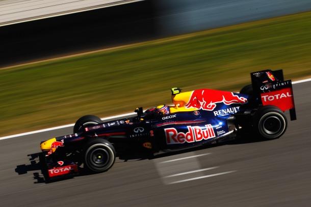 Red Bull RB8 Side