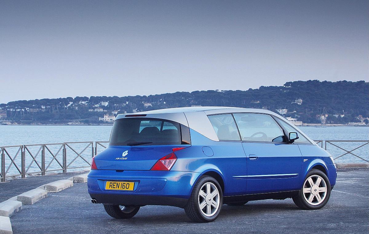 Renault Avantime Rear