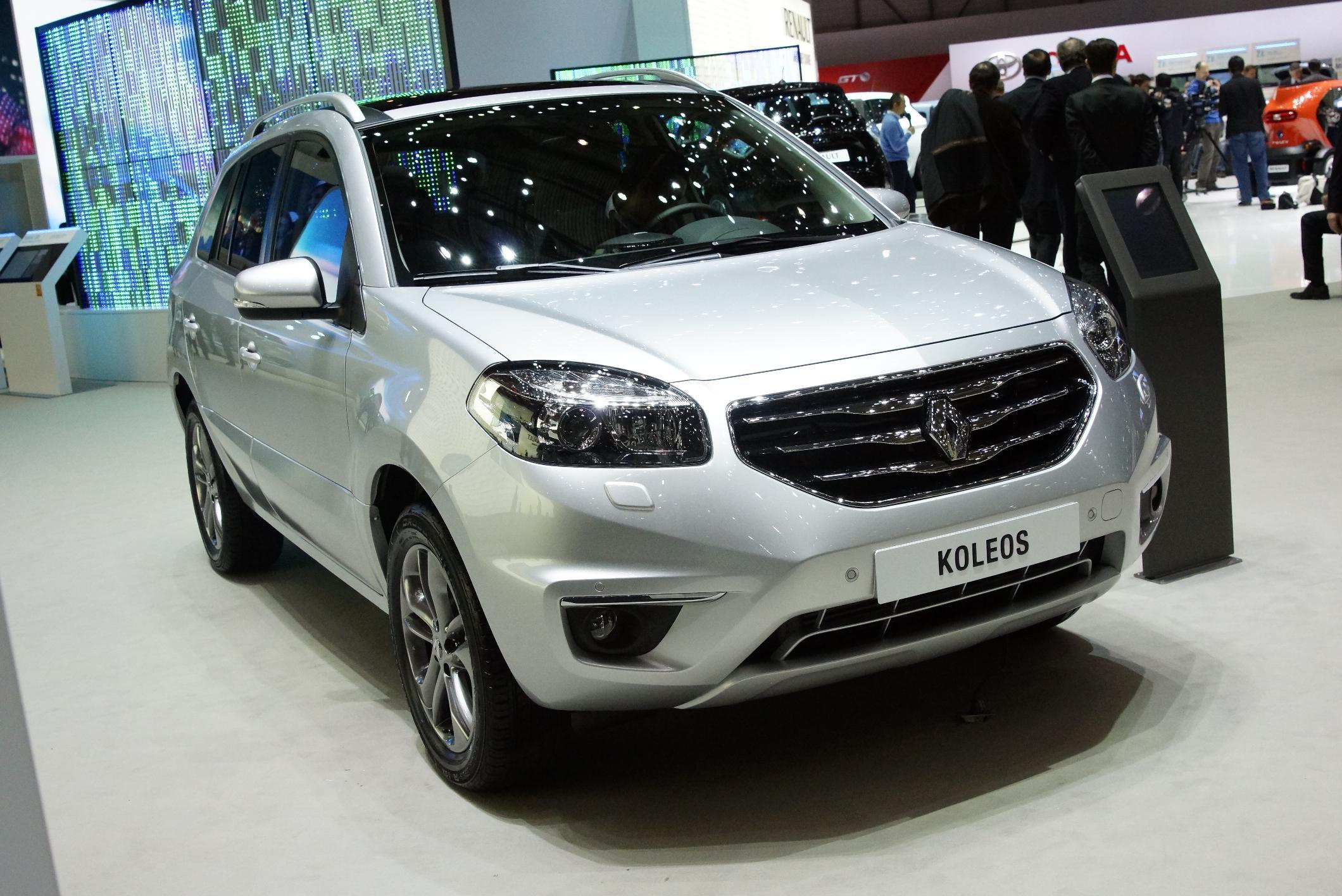 Renault Koleos Geneva 2012