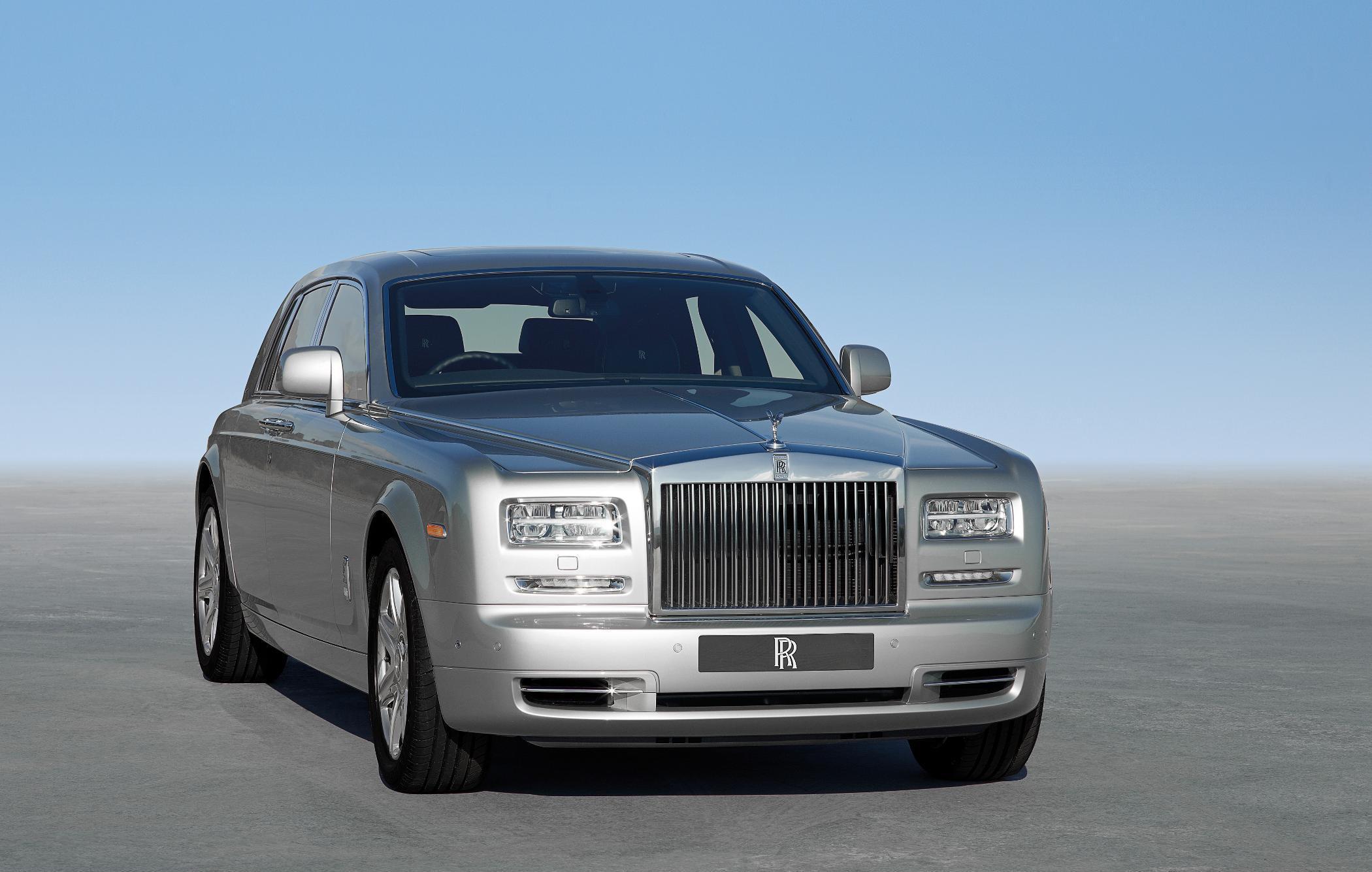 Rolls Royce Phantom II Front