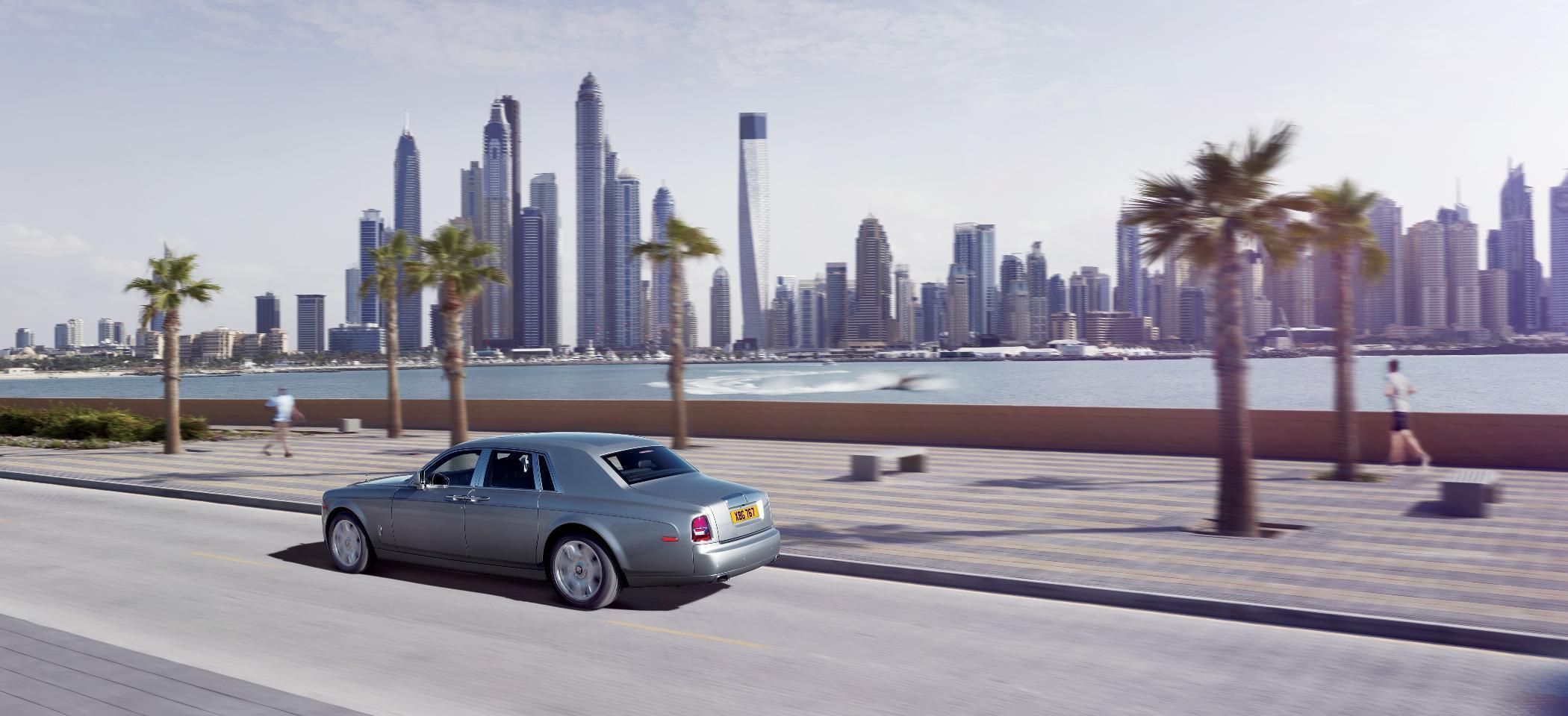 Rolls Royce Phantom II Rear