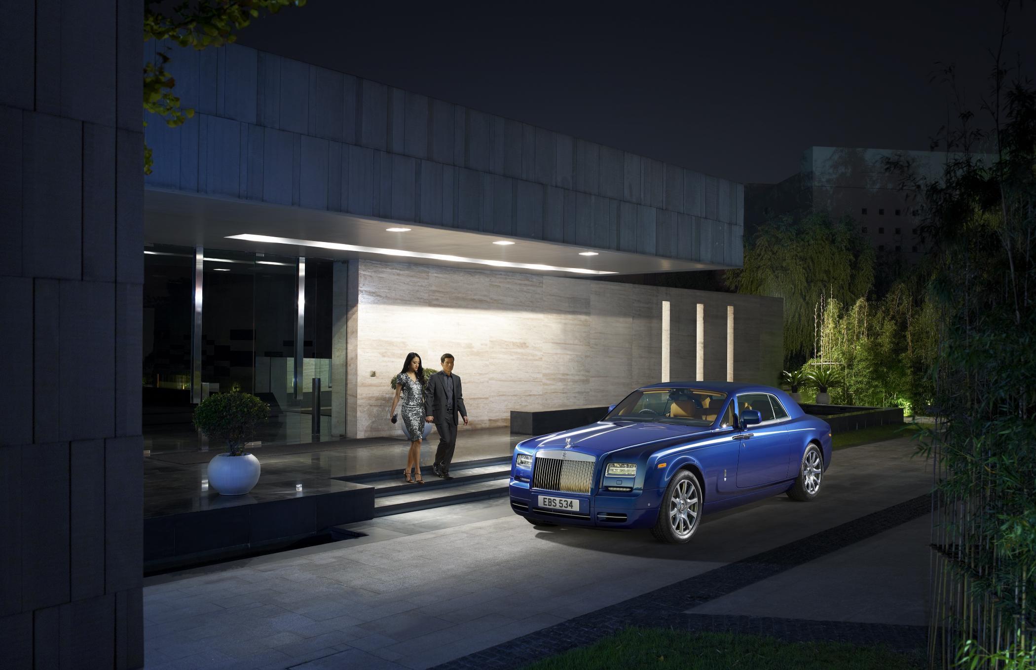 Rolls Royce Phantom II Side