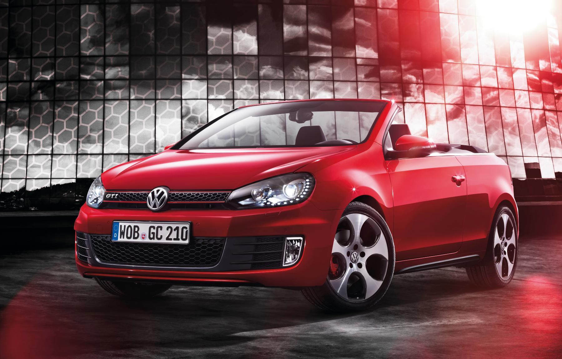 VW Golf GTI Cabriolet Front