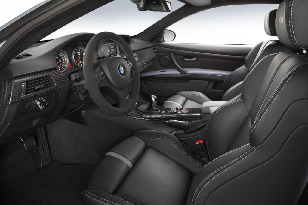 BMW M3 Frozen Silver Interior
