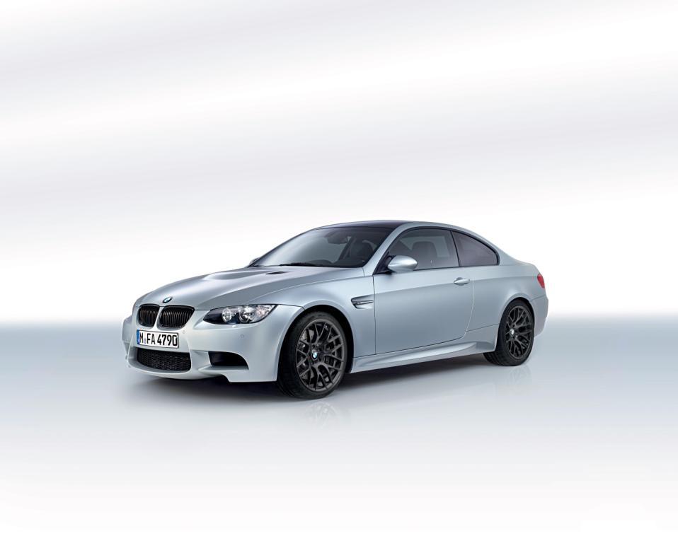BMW M3 Frozen Silver