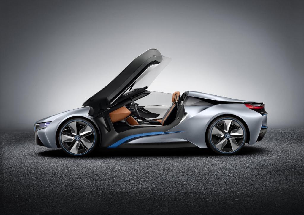 BMW i8 Spyder Doors 2