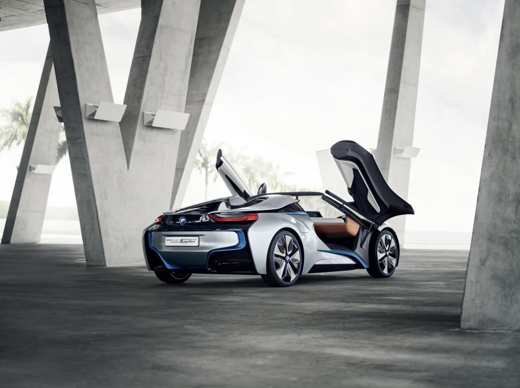 BMW i8 Spyder Doors