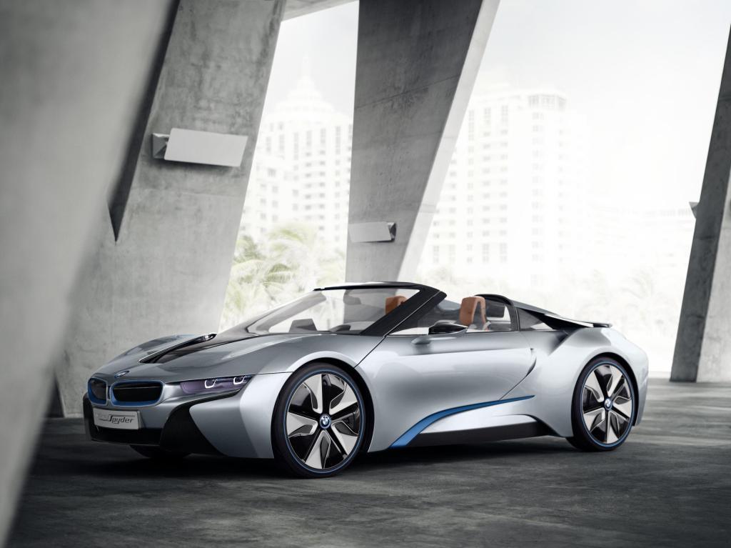 BMW i8 Spyder Exterior