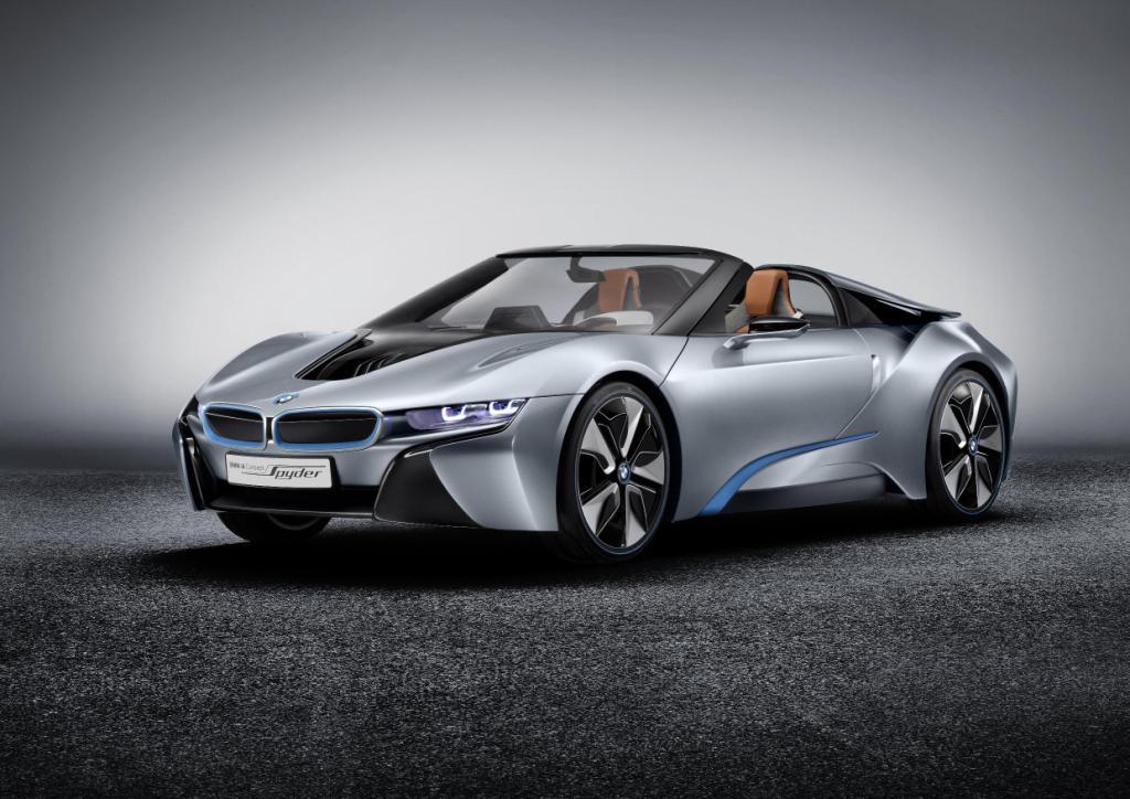 BMW i8 Spyder Front 2