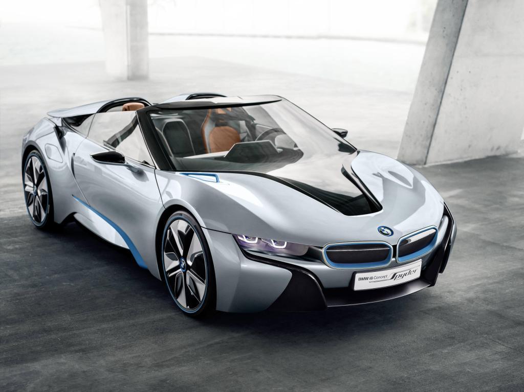 BMW i8 Spyder Front