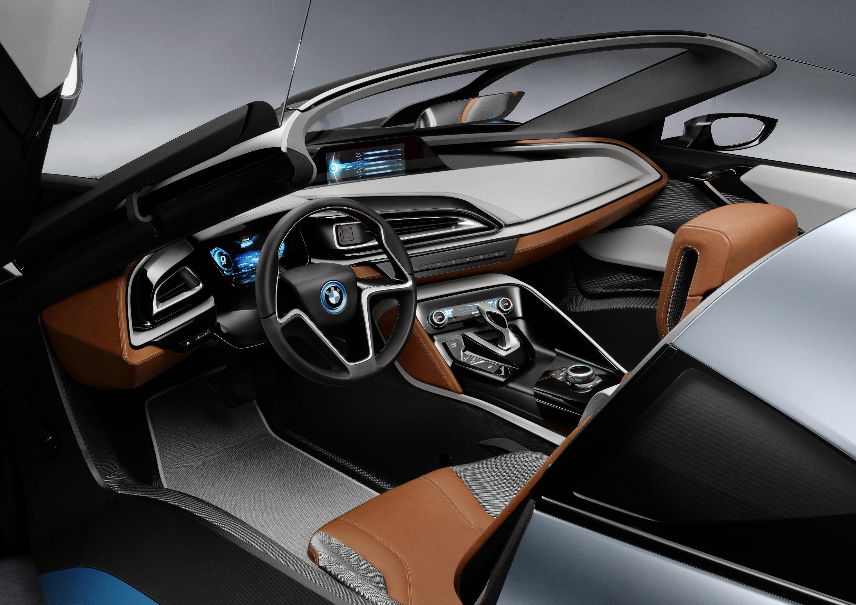 BMW i8 Spyder Interior