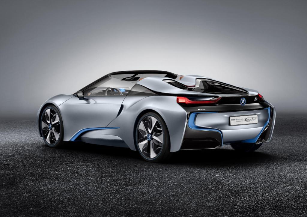BMW i8 Spyder Rear 2