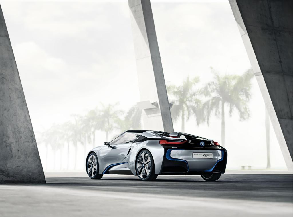 BMW i8 Spyder Rear