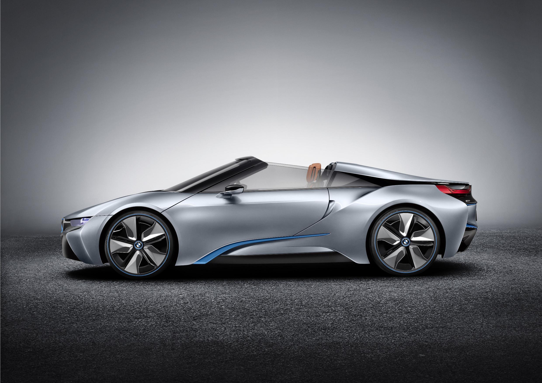 BMW i8 Spyder Side 2