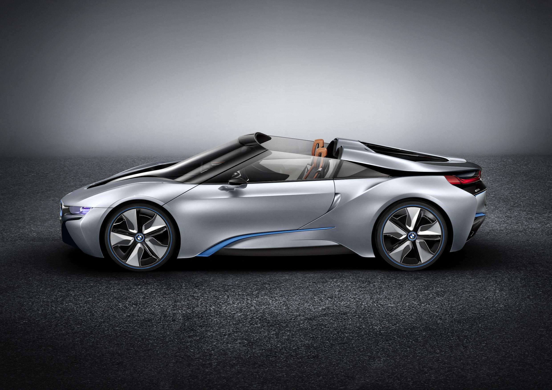 BMW i8 Spyder Side 3