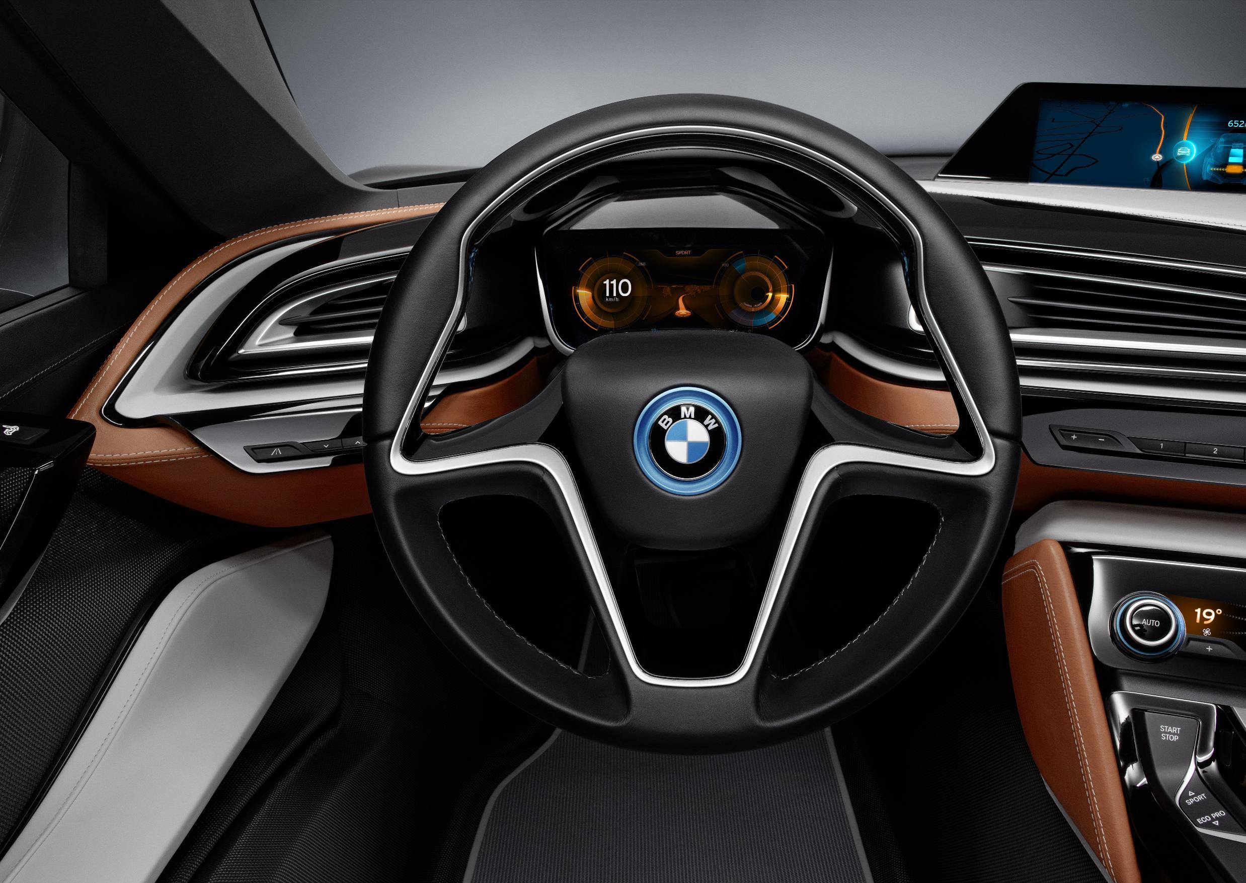 BMW i8 Spyder Steering Wheel
