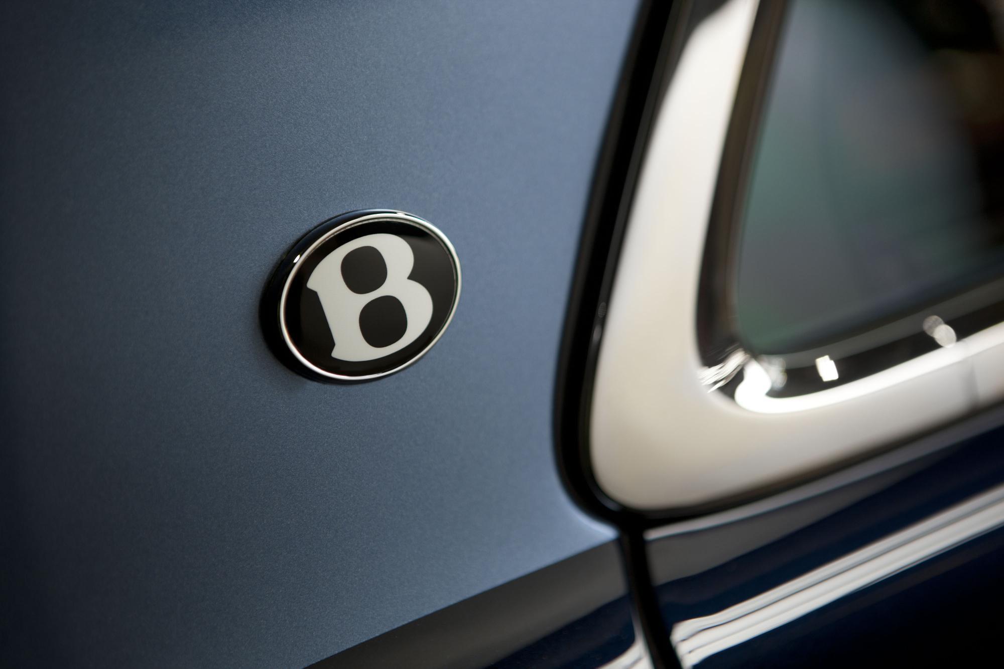 Bentley Mulsanne Diamond Jubilee Edition Badge