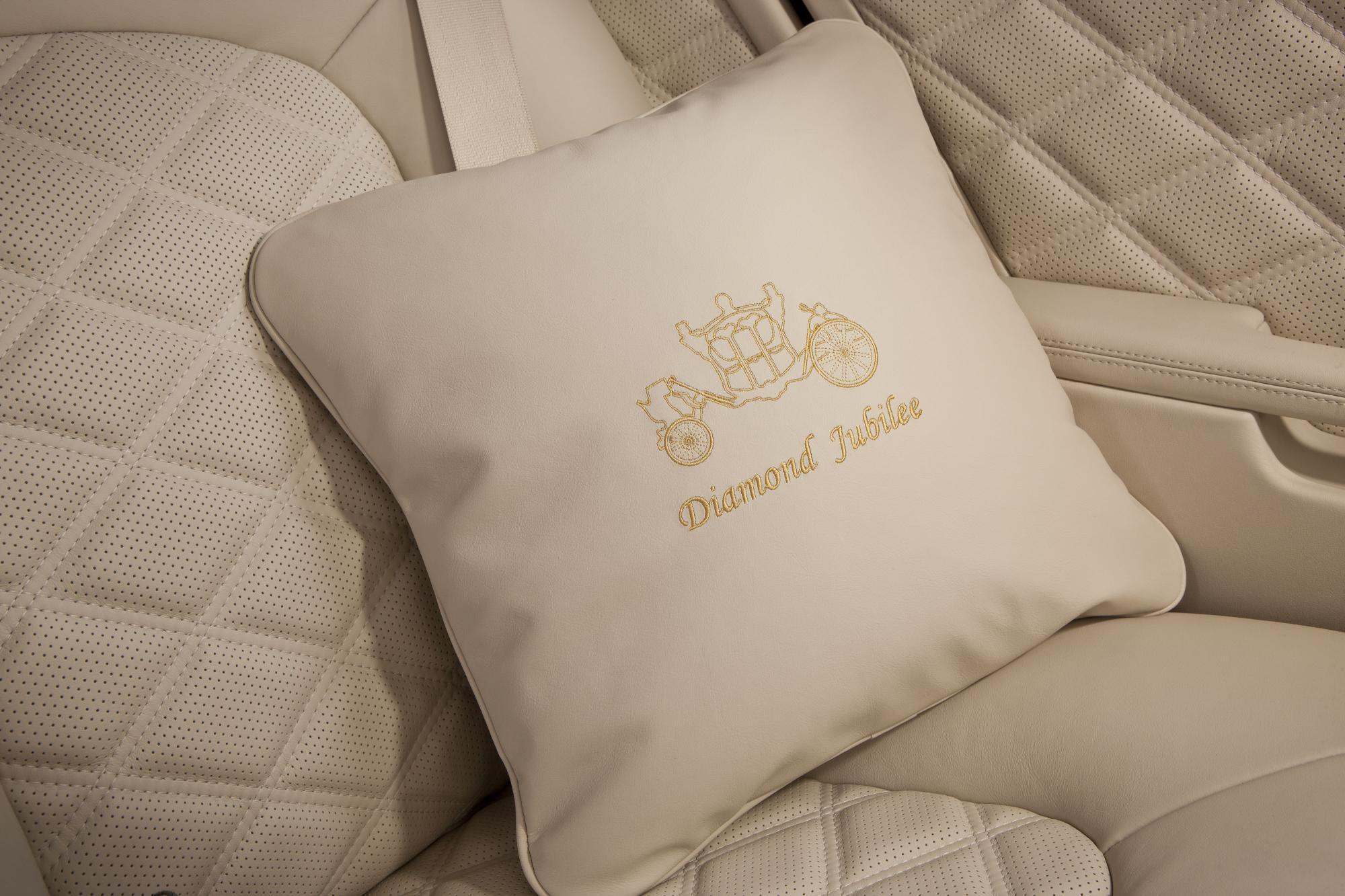 Bentley Mulsanne Diamond Jubilee Edition Cushion