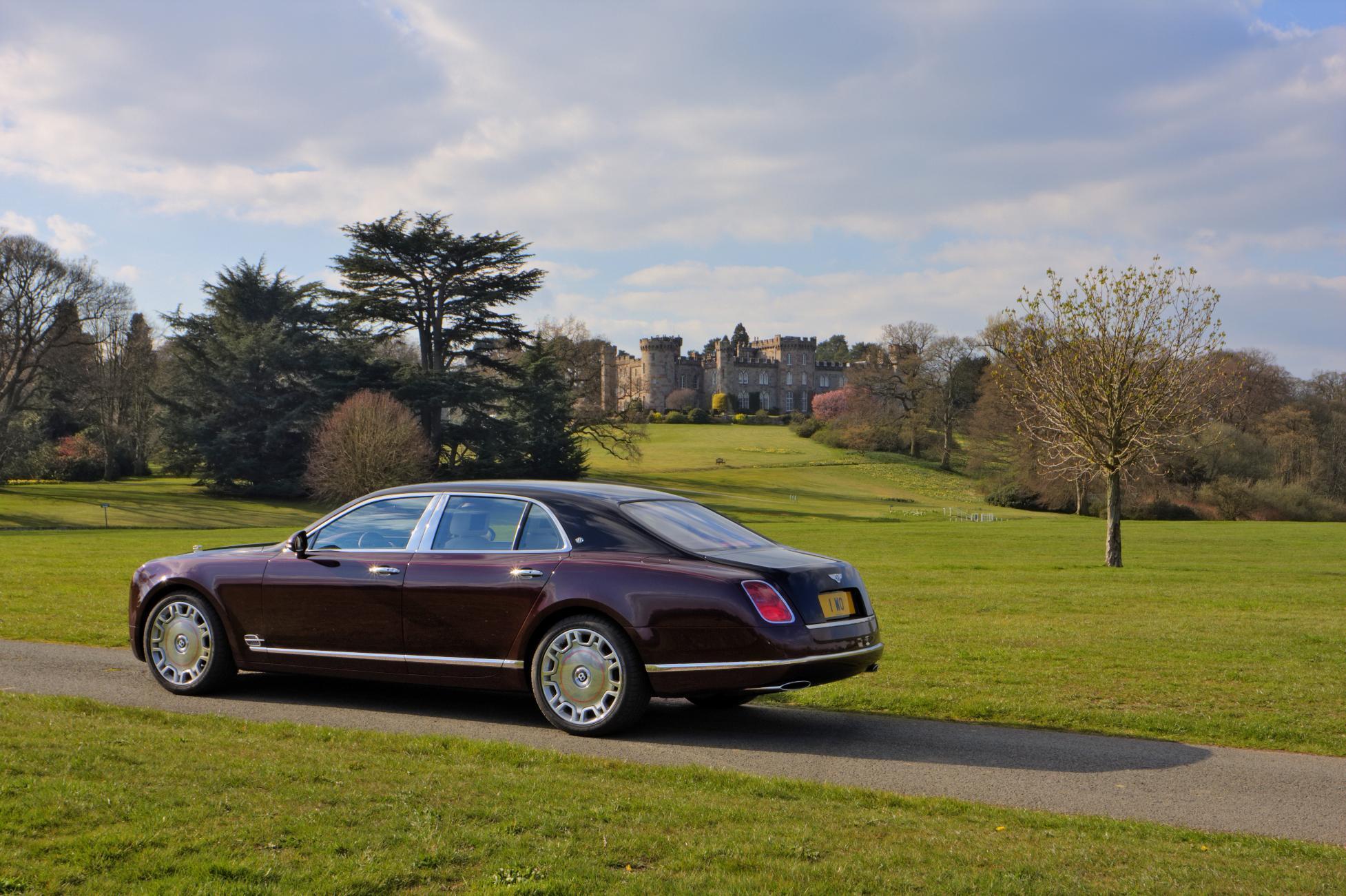 Bentley Mulsanne Diamond Jubilee Edition Rear