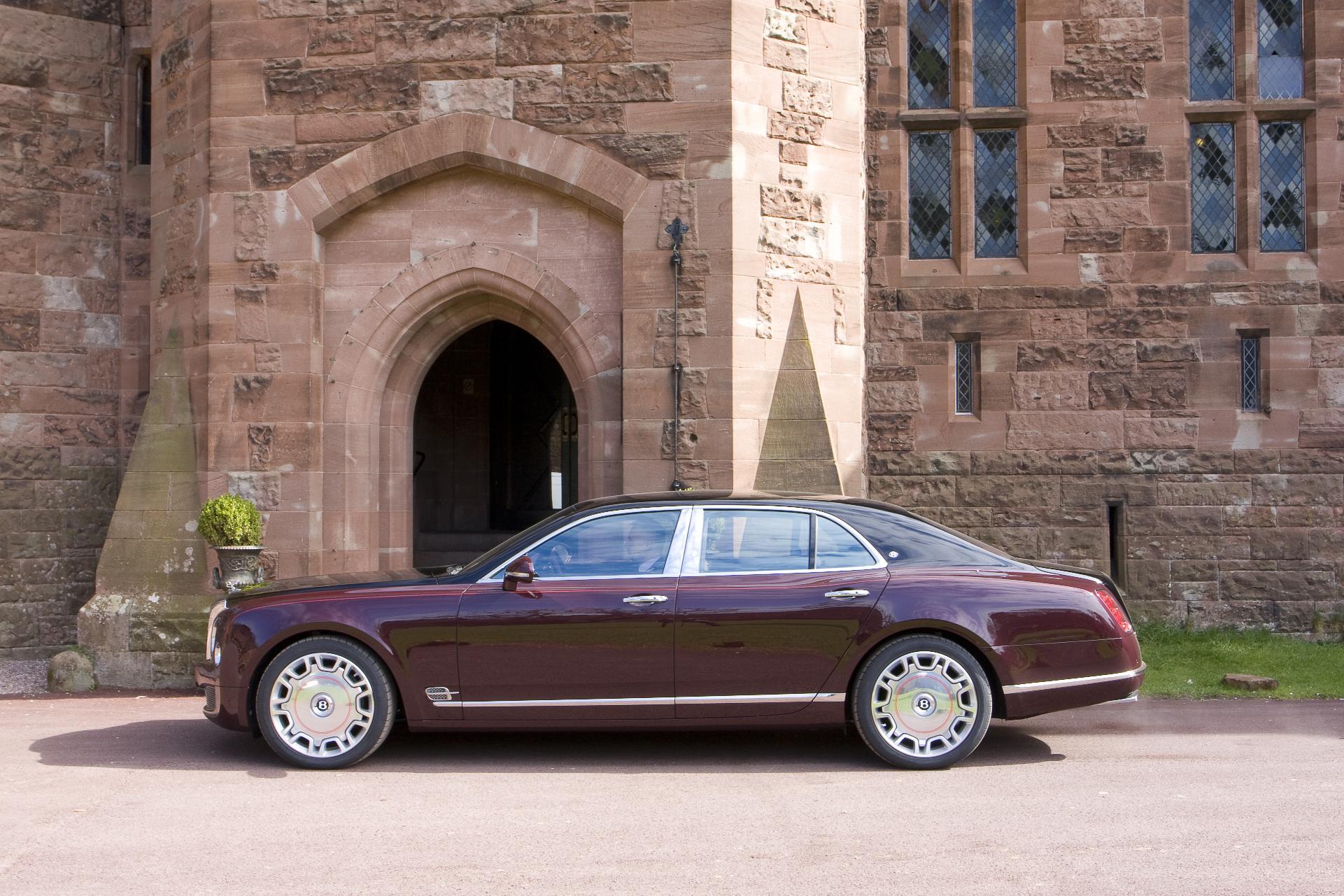 Bentley Mulsanne Diamond Jubilee Edition Side 2