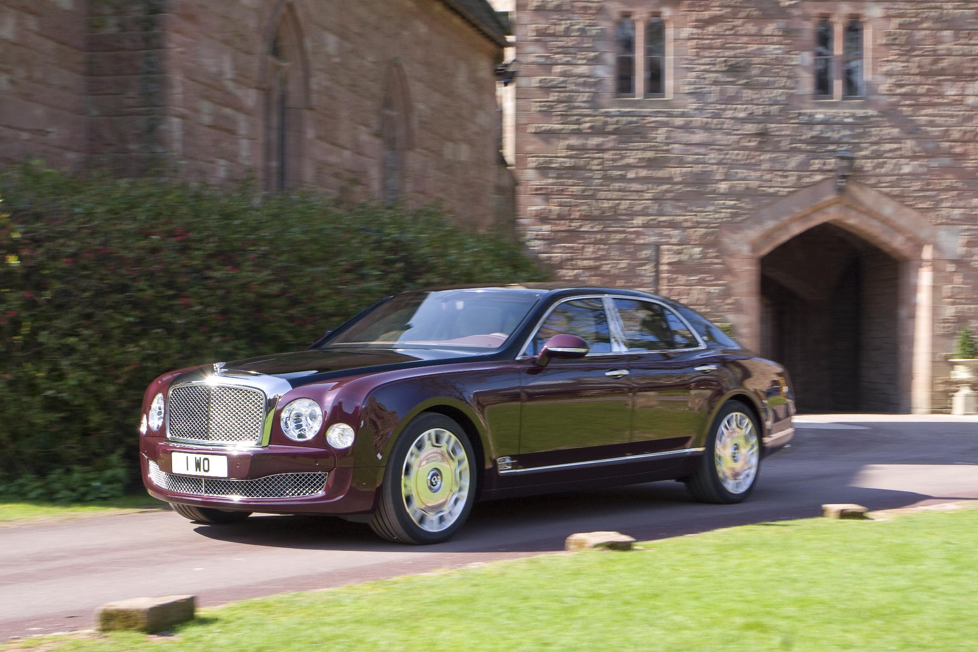 Bentley Mulsanne Diamond Jubilee Edition Side