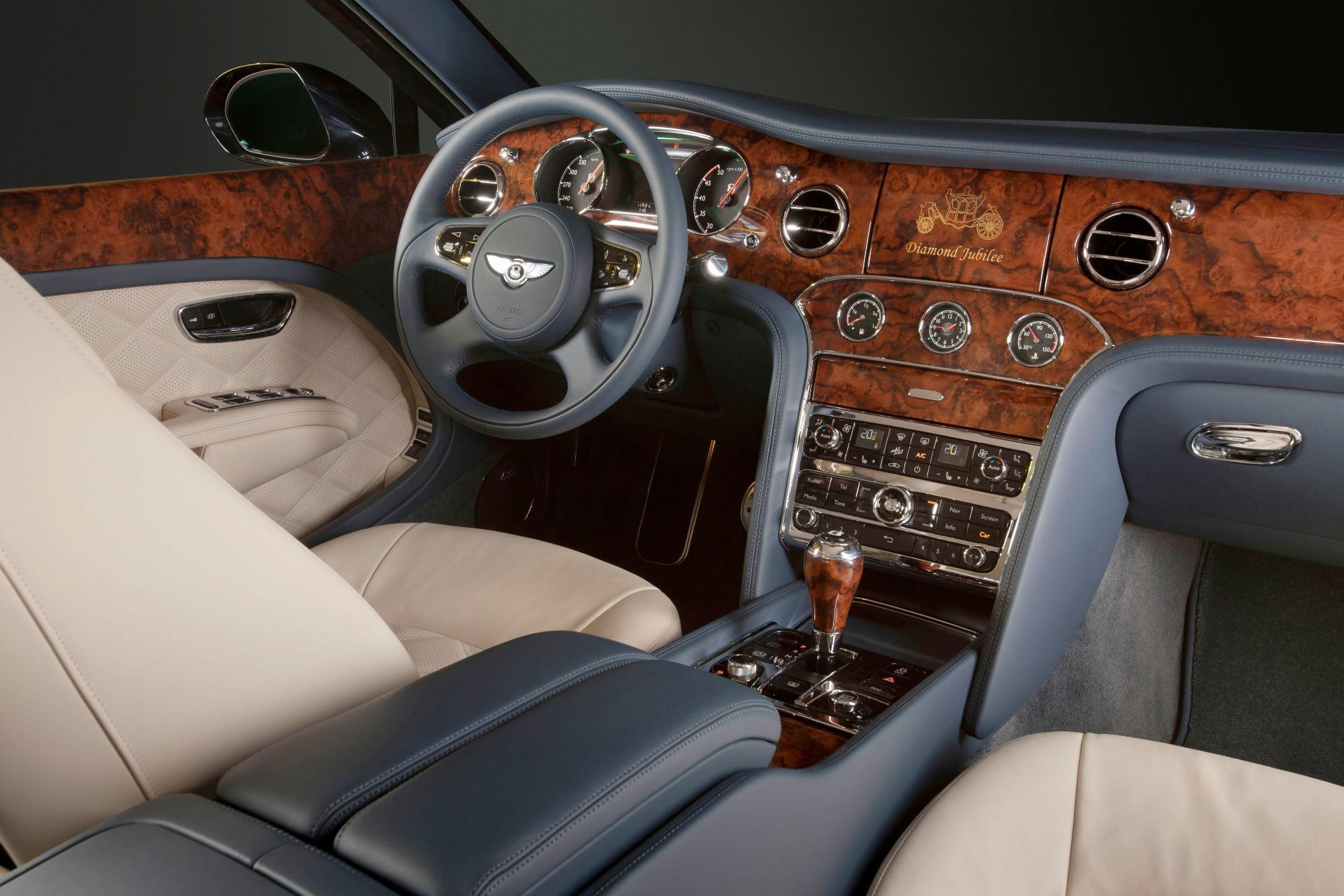 Bentley Mulsanne Diamond Jubilee Edition Steering Wheel