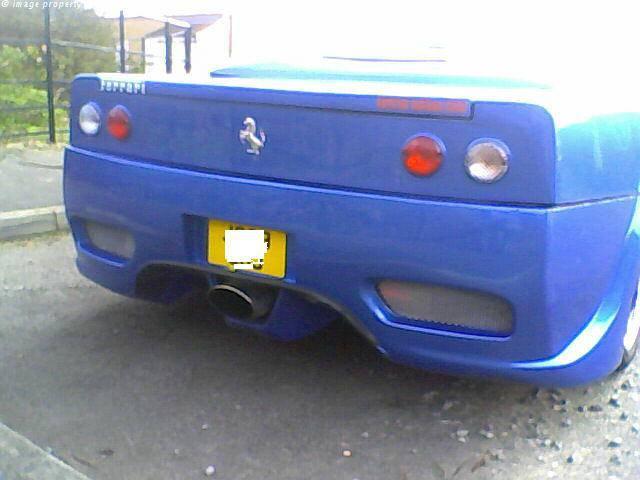 Ferrari 360 Replica Exhaust