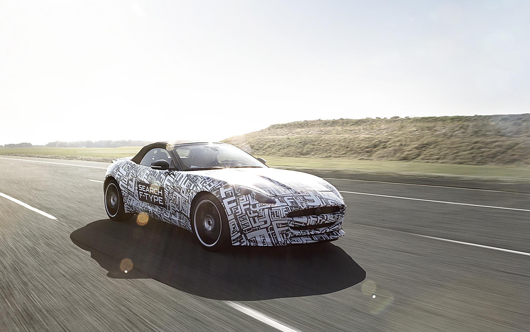 Jaguar F-Type Prototype Front Testing