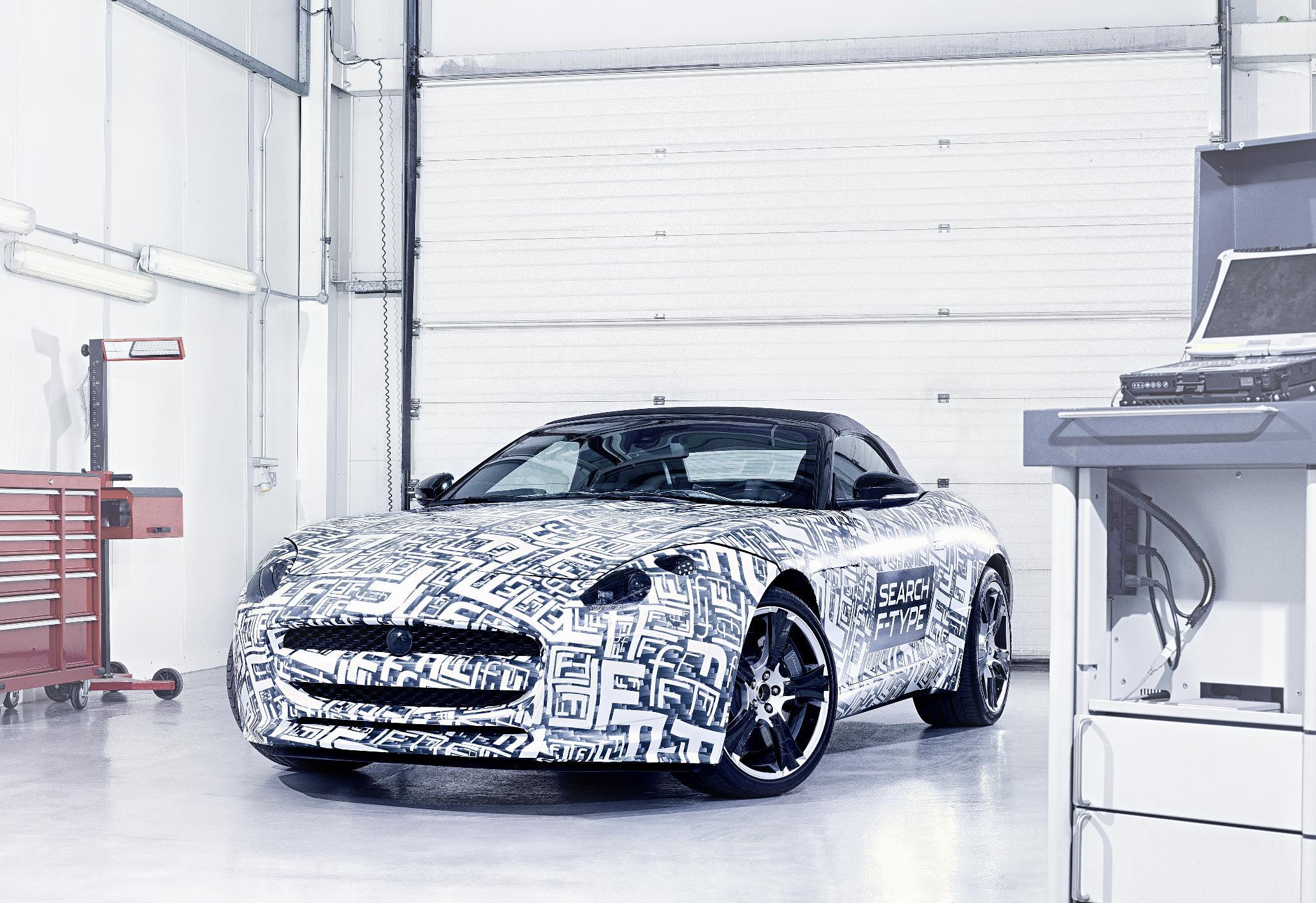 Jaguar F-Type Prototype Front