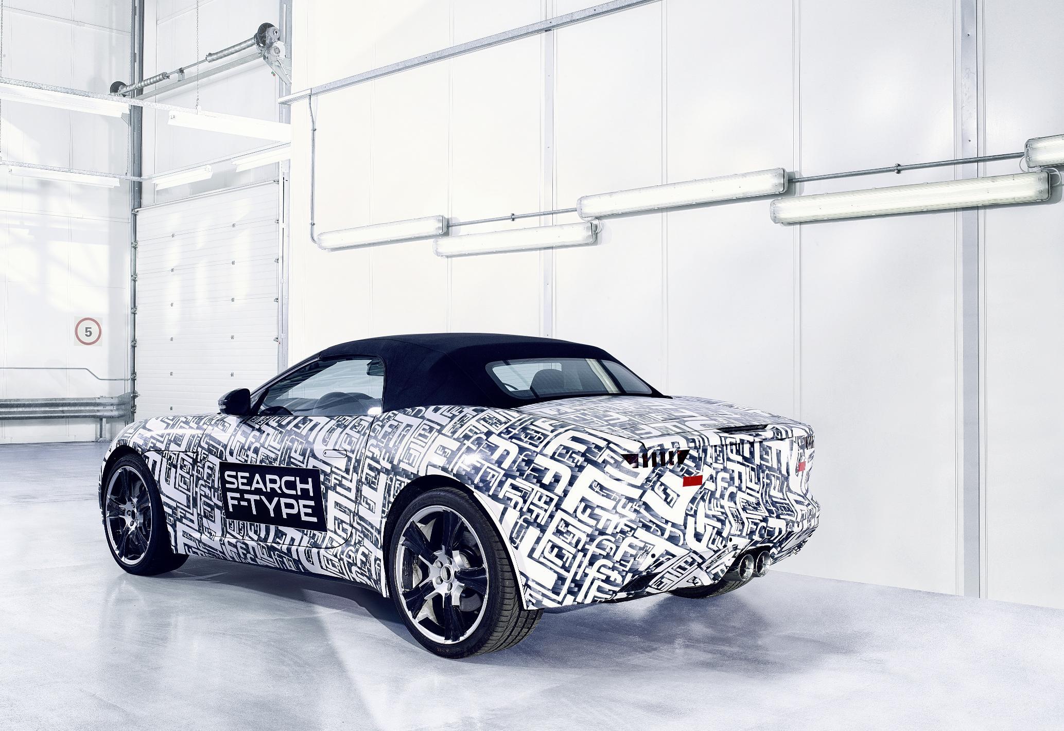 Jaguar F-Type Prototype Rear