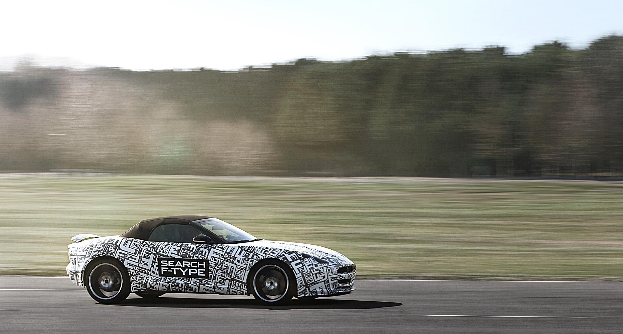 Jaguar F-Type Prototype Testing