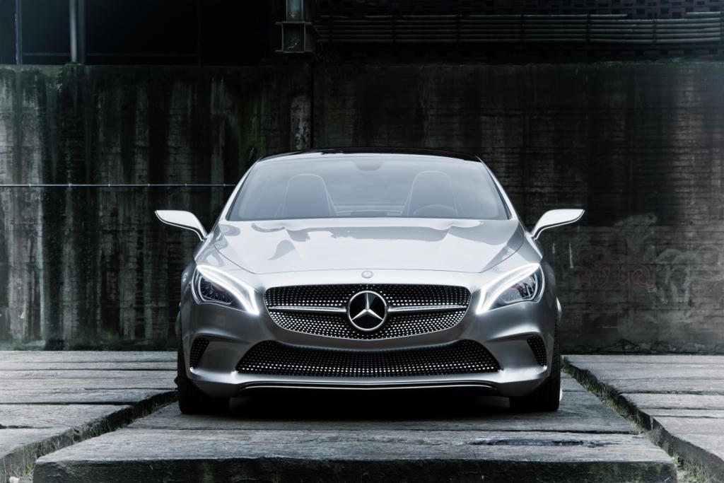 Mercedes Concept Style Coupé Front Grille