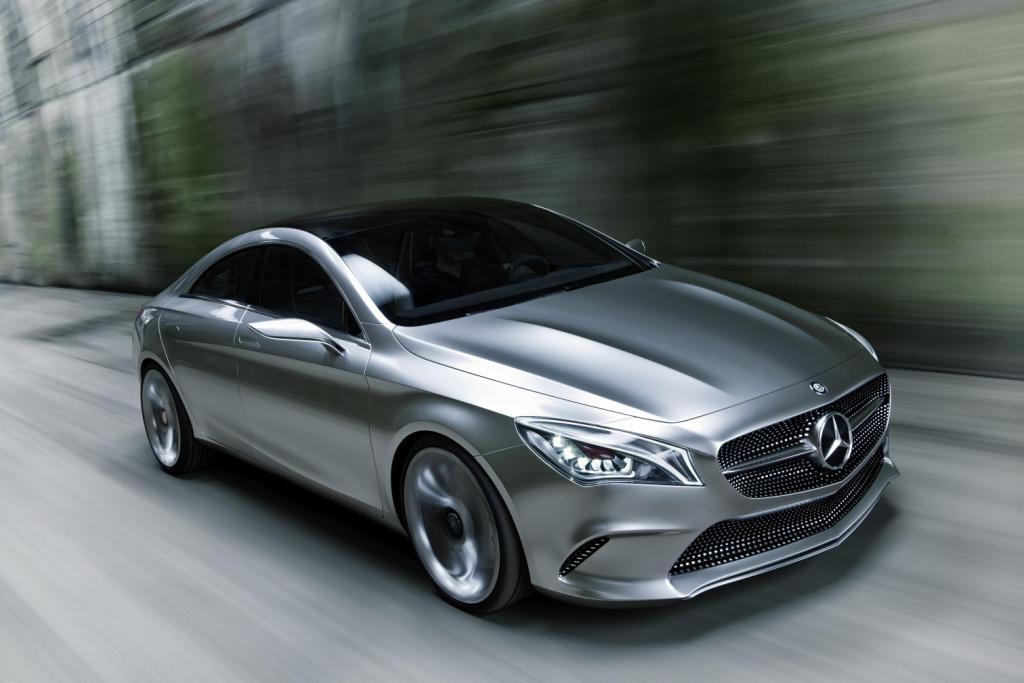 Mercedes Concept Style Coupé Front