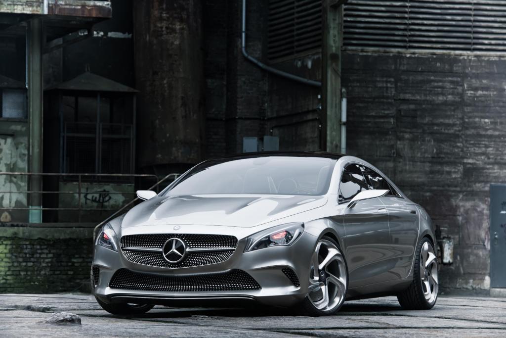 Mercedes Concept Style Coupé Grille