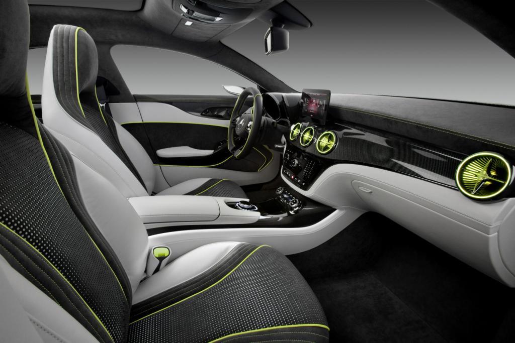 Mercedes Concept Style Coupé Interior