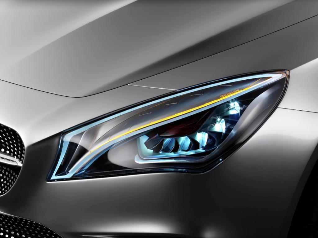 Mercedes Concept Style Coupé Lights