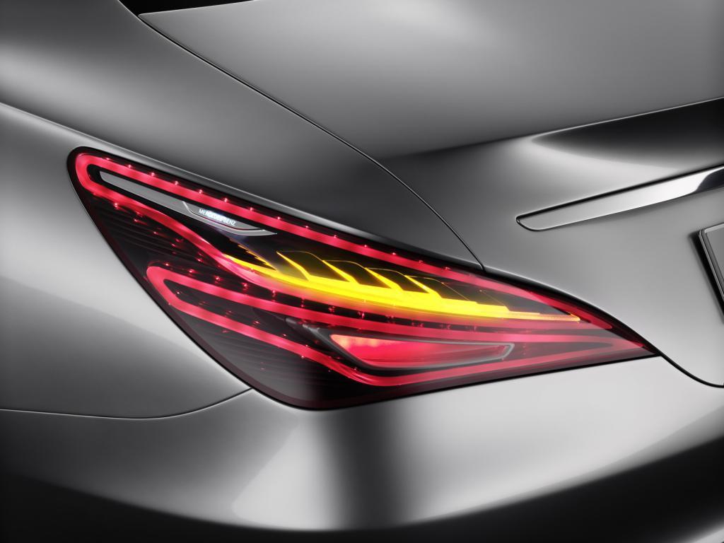 Mercedes Concept Style Coupé Rear Light