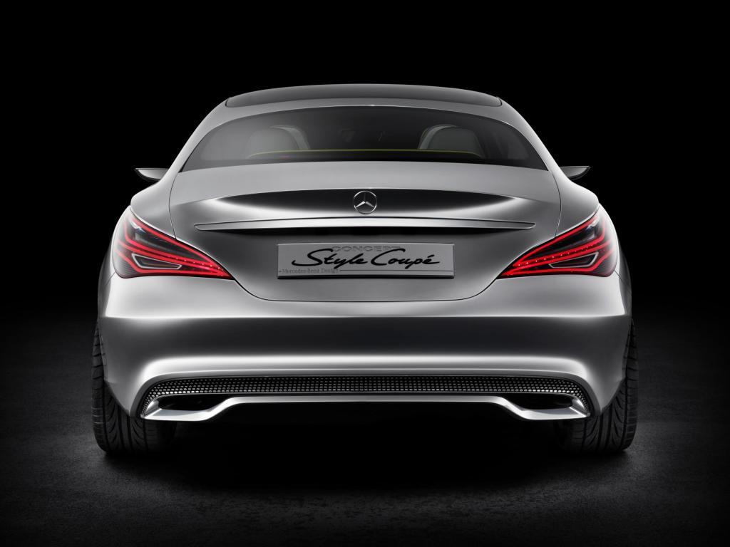 Mercedes Concept Style Coupé Rear