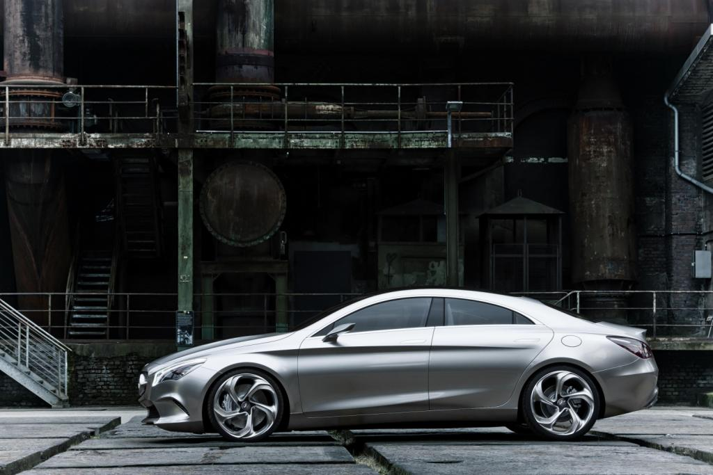 Mercedes Concept Style Coupé Side 2