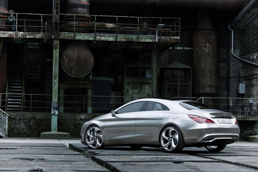 Mercedes Concept Style Coupé Side 3