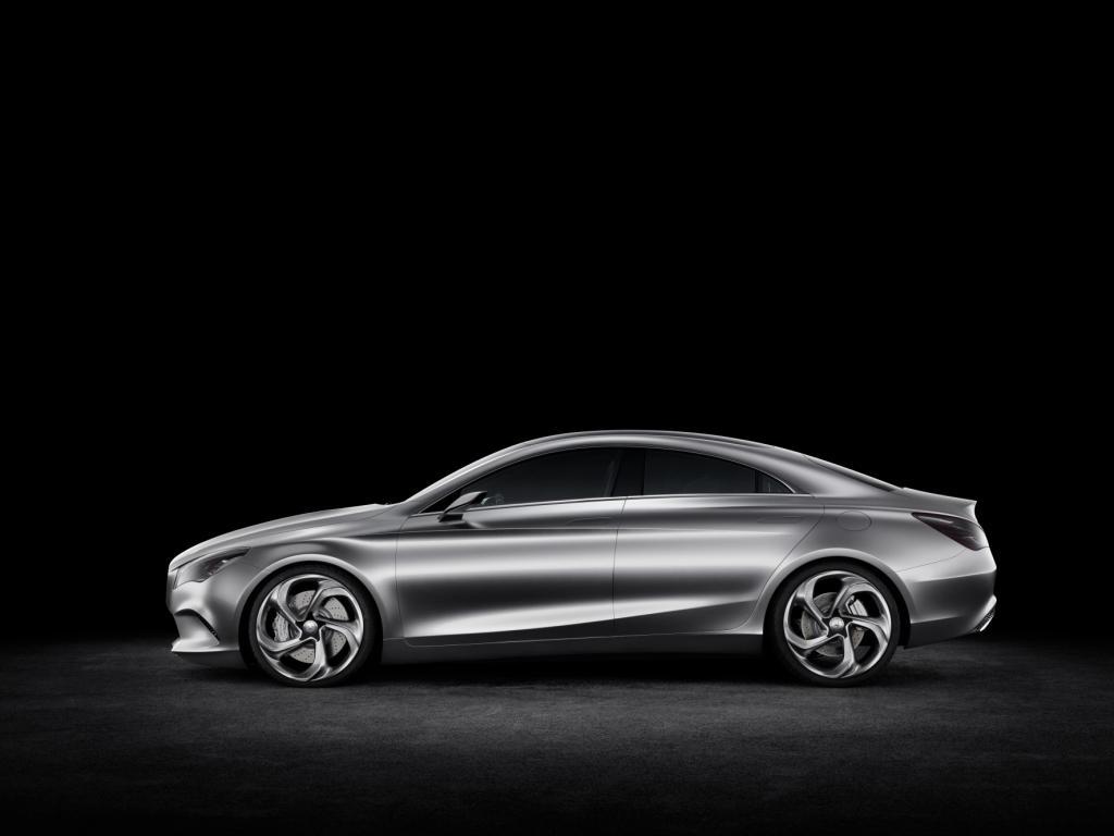 Mercedes Concept Style Coupé Side