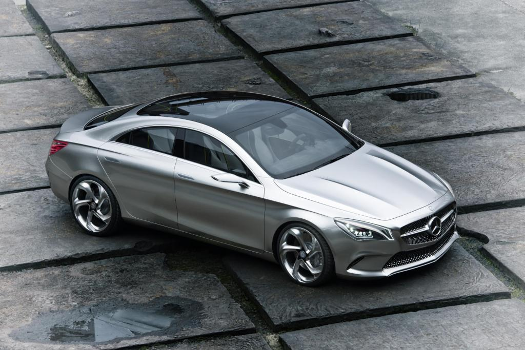 Mercedes Concept Style Coupé Top Side