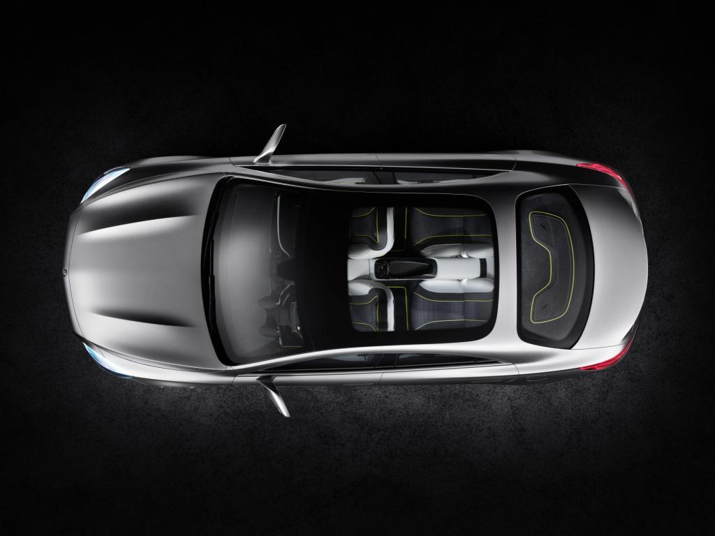 Mercedes Concept Style Coupé Top