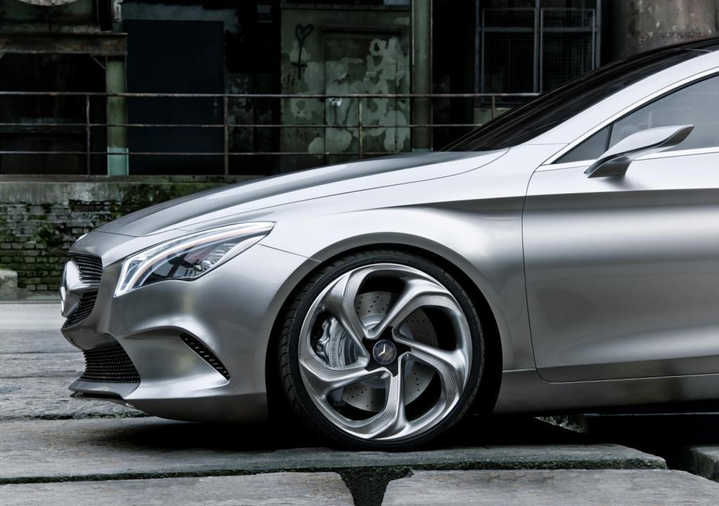 Mercedes Concept Style Coupé Wheel