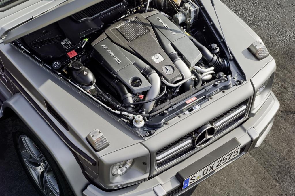 Mercedes G63 AMG Engine