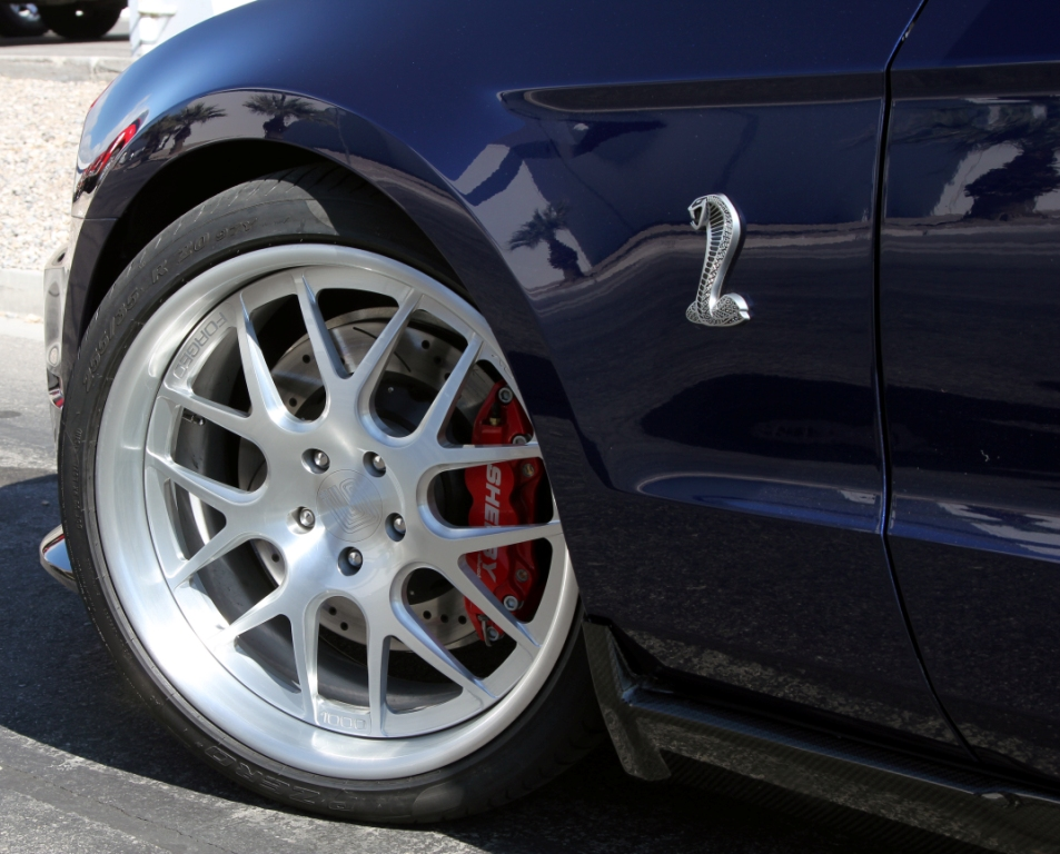Shelby Mustang 1000 Front Wheels