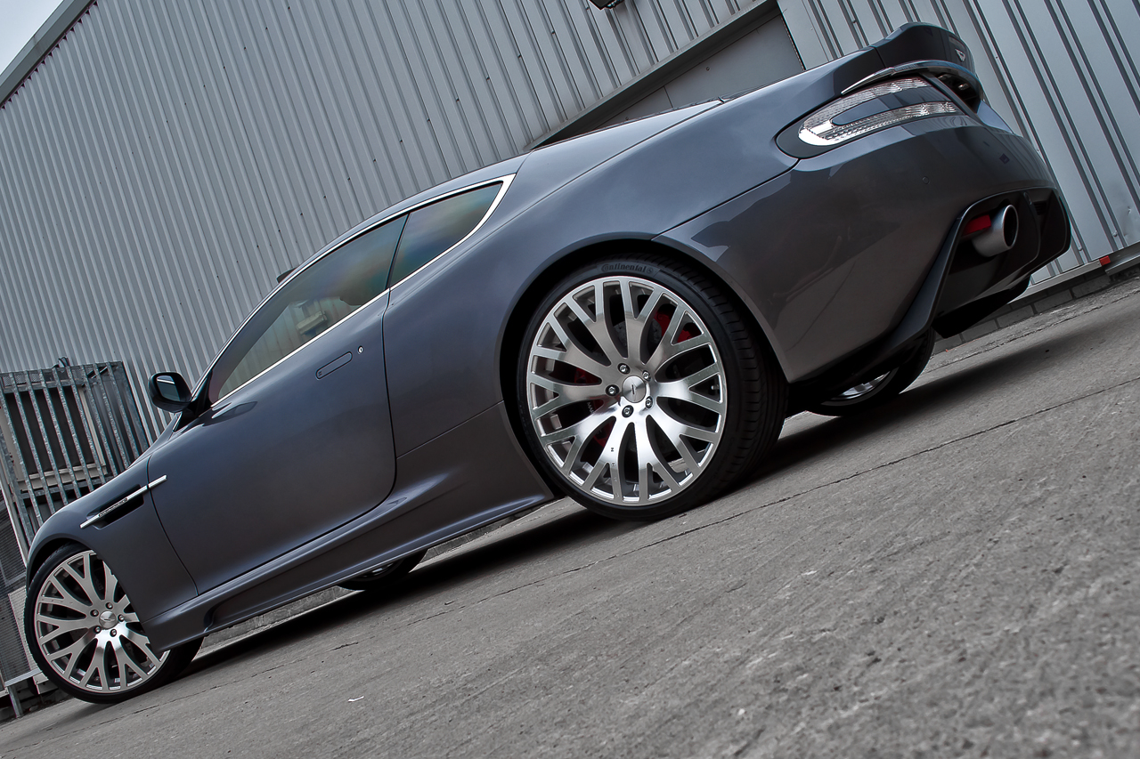 Aston Martin DBS Kahn Casino Royale Side